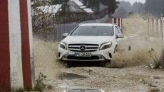 Mercedes-Benz GLA Off-Road Testing