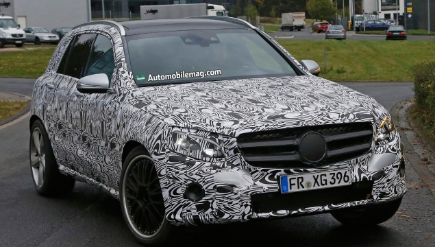 GLC63 AMG Spy Photo