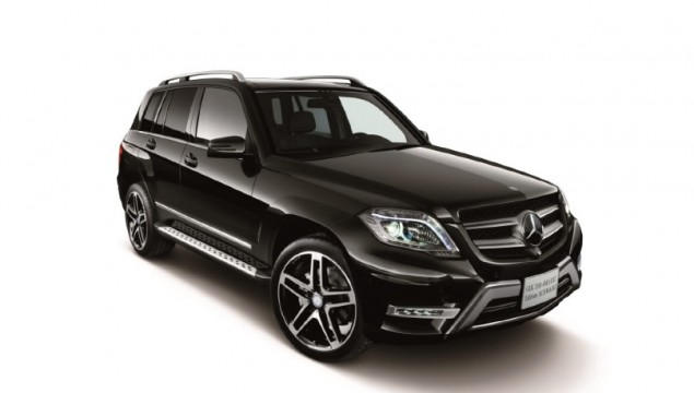 Mercedes-Benz GLK 350 4Matic Special Edition Schwarz