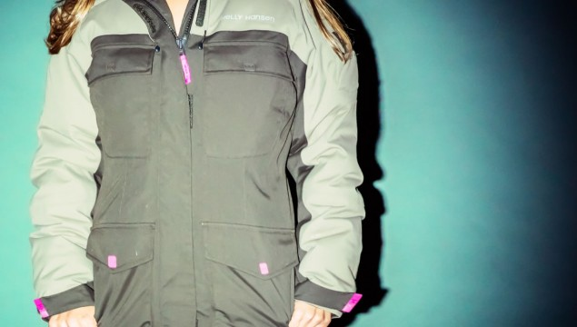 Helly Hansen Flow Down Parka front view