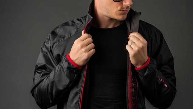 Helly Hansen H2 Flow Jacket front view unzipped
