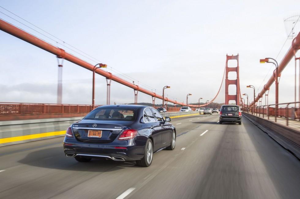 No, you can't nap behind the wheel of Mercedes' semi-autonomous E-Class
