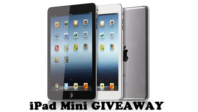 GIVE AWAY: Win an iPad Mini