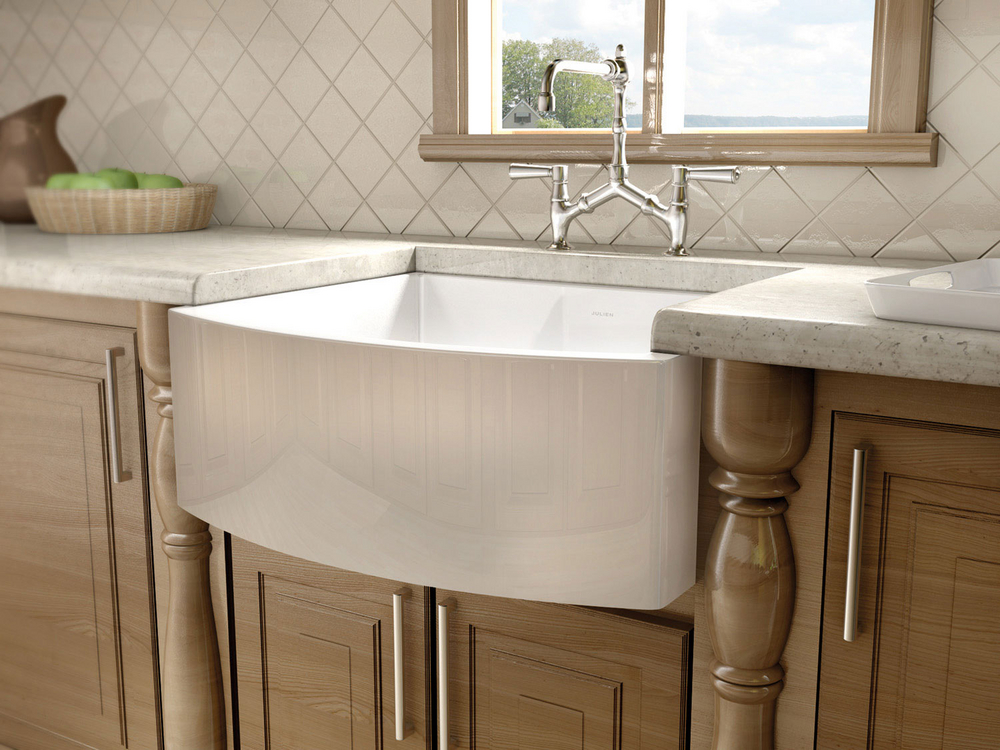 Julien Sinks and Faucets Photo Gallery (Julien Fireclay Sink ...