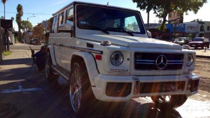 Kim Kardashian Gave her 2013 Mercedes G63 AMG the Platinum Motorsport Treatment 2