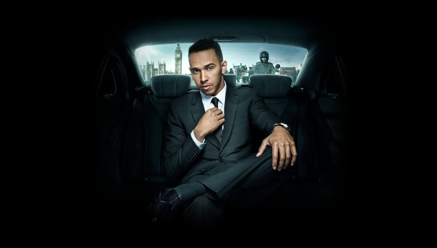 Lewis Hamilton Suit and Tie