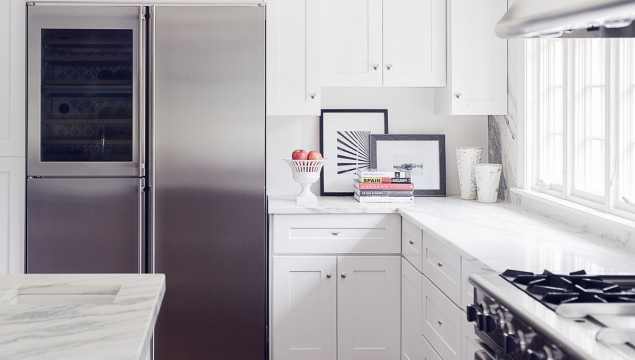 "Liebherr SBS 246 48"" Refrigerator"