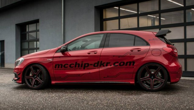 Mercedes A 45 AMG by Mcchip-DKR