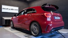 Mercedes A 45 AMG by Mcchip-DKR driver's side