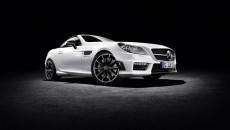 Mercedes-Benz SLK 55 AMG CarbonLOOK Edition, designo cashmere white magno
