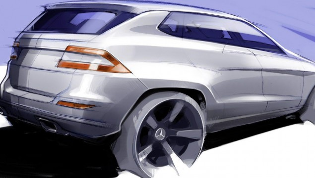 Mercedes GL Coupe Rumored