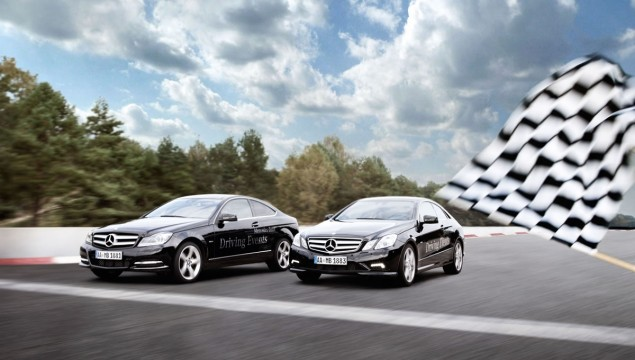 2012 Mercedes-Benz Driving Academy Kicks Off in Europe