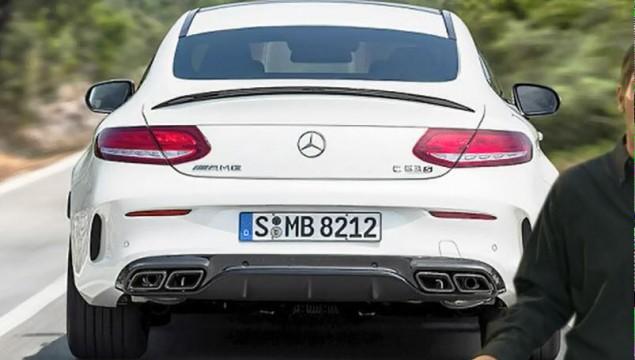 Mercedes C63 AMG S Coupé