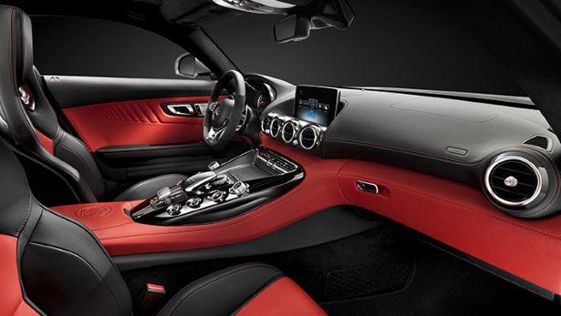 Mercedes AMG GT S Interior