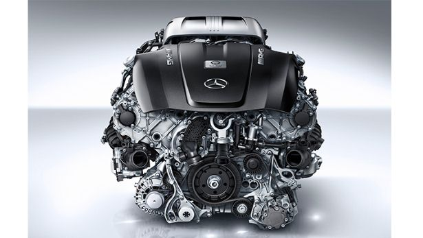 Mercedes AMG GT S Engine