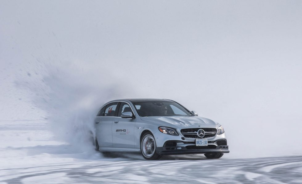 Mercedes' AMG Driving Academy's Winter Sporting program