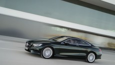 Mercedes-Benz S-Class Coupé, S 500 4MATIC Coupé, paint: emerald green
