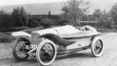 Mercedes 115 hp Grand Prix race car, 1914.