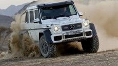 6x6 Mercedes G63 AMG off-road