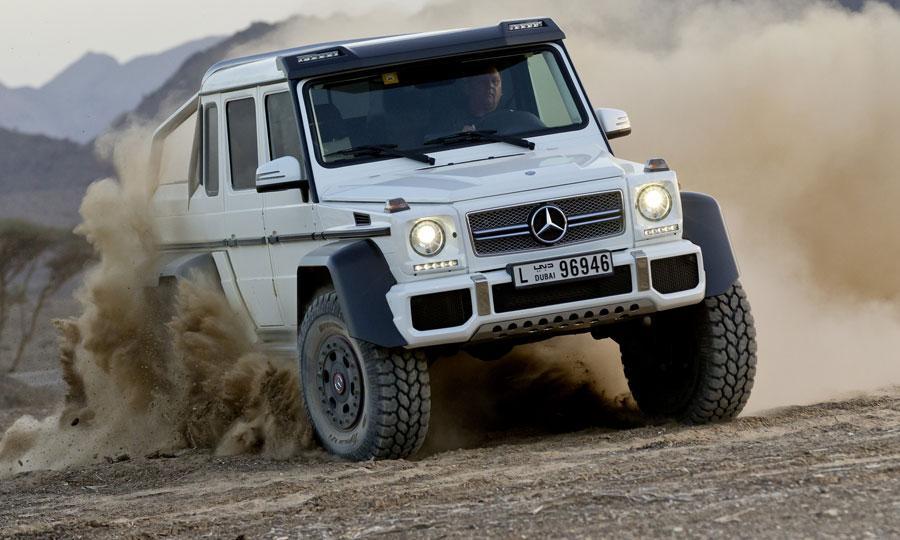 6×6 Mercedes G63 AMG 1