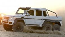 6x6 Mercedes G63 AMG sand dune