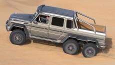 6x6 Mercedes G63 AMG 6 wheeler