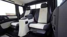 6x6 Mercedes G63 AMG interior