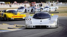 10-11 June 1989. Sauber-Mercedes C 9, Group C racing car,. Starting number 63 – winners: Jochen Mass / Manuel Reuter / Stanley Dickens.