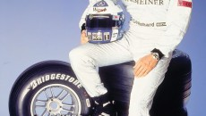 David Coulthard, former Formula One raceing driver on McLaren-Mercedes. Photo from 2001.