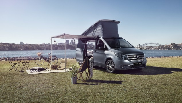 Mercedes-Benz Vans and Airbnb Host Special Camping Event