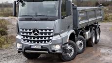 Mercedes-Benz Arocs Tipper, exterior