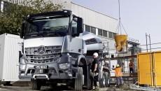 Mercedes-Benz Arocs Concrete mixer, exterior
