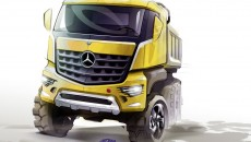 Mercedes-Benz Arocs, design