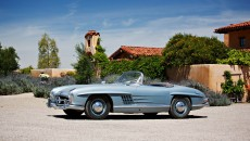 Original-Owner 1950s Mercedes-Benz 300SL Gullwing and Roadster Headed to Auction