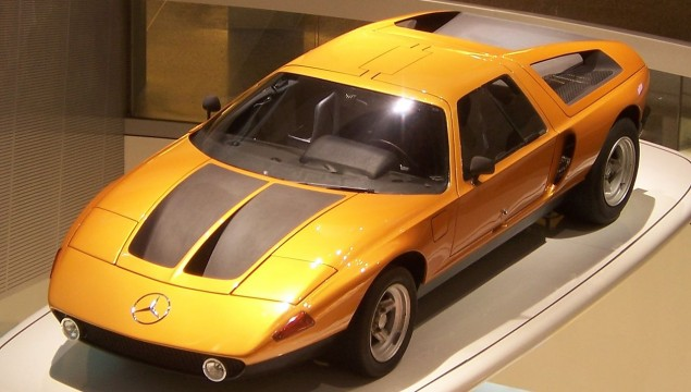 Mercedes-Benz C 111 Research Vehicle