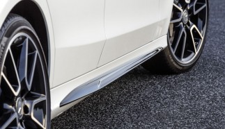 Exclusive AMG Accessories for the C-Class: AMG Side-sill extensions