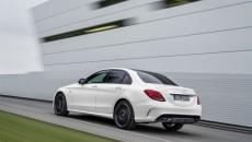 Mercedes-Benz C 450 AMG 4MATIC, exterior: diamond white