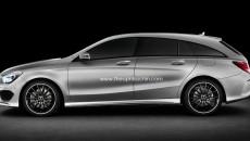 Mercedes-Benz CLA Shooting Brake Exterior