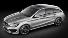 Mercedes-Benz CLA Shooting Brake Aerial Photo
