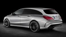 Mercedes-Benz CLA Shooting Brake Rear Photo