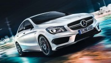 2014 Mercedes CLA45 AMG in Cirrus White