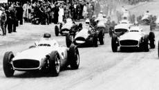 Fangio won the first German Grand Prix after World War Two with the Mercedes-Benz W 196 R