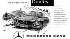 Mercedes-Benz 300 SL Roadster (W 198 II, 1957 - 1963). Advertisement, 1958