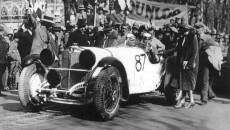Brescia, Italy: The sensational Mercedes-Benz victory in 1931
