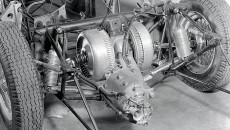 Mercedes W 196 R engine