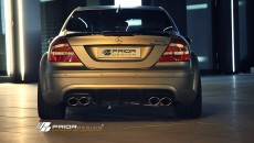 Mercedes CLK PD BLACK EDITION Widebody [w209] Aerodynamic-Kit rear