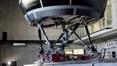 Daimler AG driving simulator in Sindelfingen