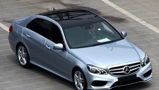 Mercedes-Benz E-L Photographed Prior to Auto Shanghai Debut