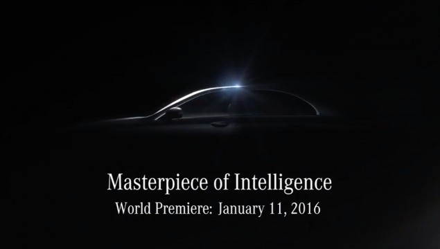 Mercedes-benz e-class teaser photo