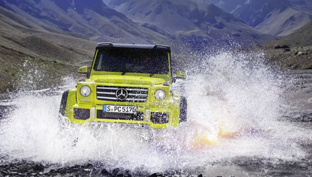 Mercedes-Benz G 500 4×4² Takes on Earth's Harshest Terrain in New Video